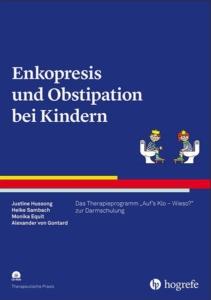 """Bild: Cover des Buches """"Enkopresis und Obstipation bei Kindern"""""""