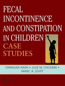 """Bild: Cover des Buches """"Fecal incontinence and constipation in children"""""""""""